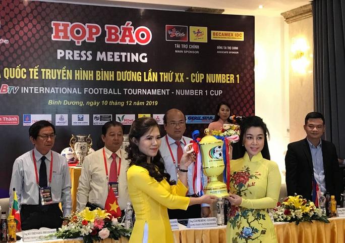 U20 Việt Nam đua tài tại Cúp quốc tế Truyền hình Bình Dương 2019 - Ảnh 2.