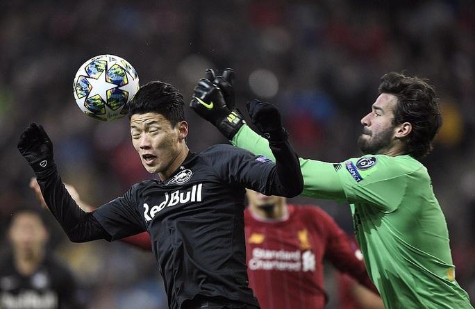 Salah lập siêu phẩm, Liverpool vượt khó ở Red Bull Arena - Ảnh 1.