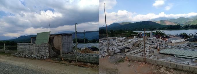 Đà Nẵng: Cưỡng chế tháo dỡ hàng loạt nhà ma trái phép chờ đền bù - Ảnh 3.