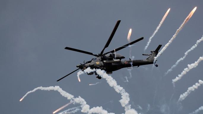 Rơi trực thăng quân sự Nga, không ai sống sót - Ảnh 1.