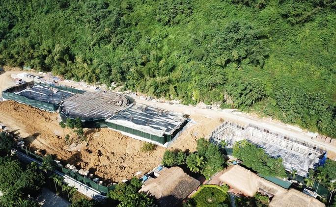 Cận cảnh công trình khủng vượt phép xâm hại di sản Tràng An - Ảnh 4.