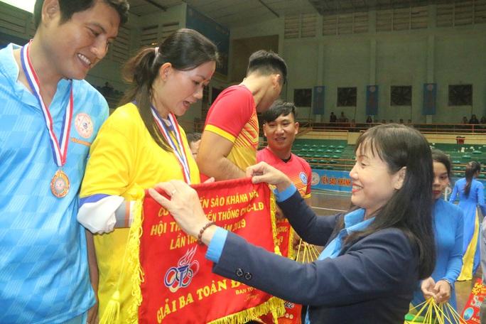 Sôi nổi hội thao Công ty Yến Sào Khánh Hòa - Ảnh 3.