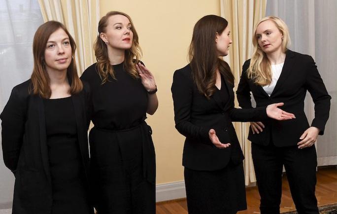 Nữ quyền hừng hực ở Phần Lan, 5 nữ tướng dẫn đầu 5 đảng liên minh - Ảnh 4.