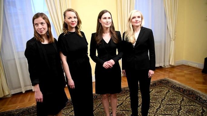Nữ quyền hừng hực ở Phần Lan, 5 nữ tướng dẫn đầu 5 đảng liên minh - Ảnh 5.