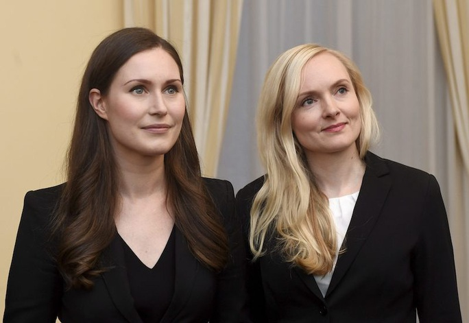 Nữ quyền hừng hực ở Phần Lan, 5 nữ tướng dẫn đầu 5 đảng liên minh - Ảnh 7.
