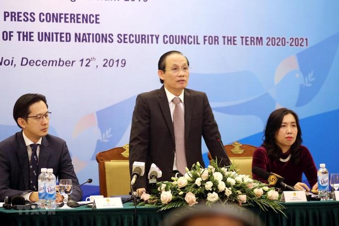 Việt Nam làm Chủ tịch Hội đồng Bảo an Liên Hiệp Quốc - Ảnh 1.