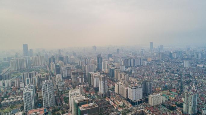 Ô nhiễm không khí Hà Nội lên kịch khung - Ảnh 1.