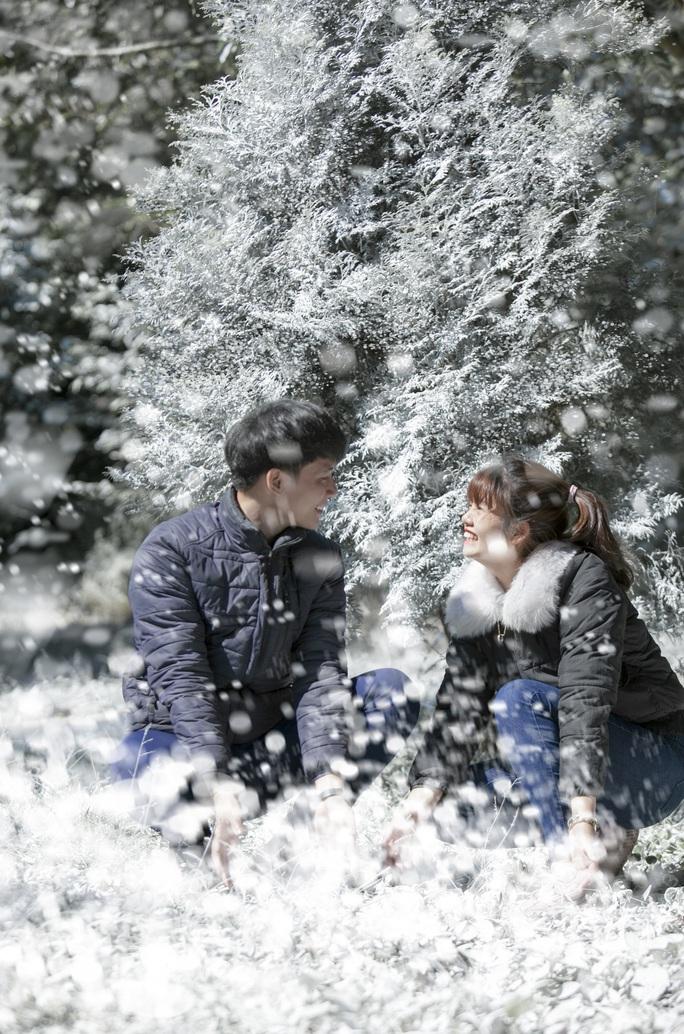 Tuyệt đẹp khu rừng châu Âu tuyết trắng giữa lòng Hà Nội - Ảnh 5.