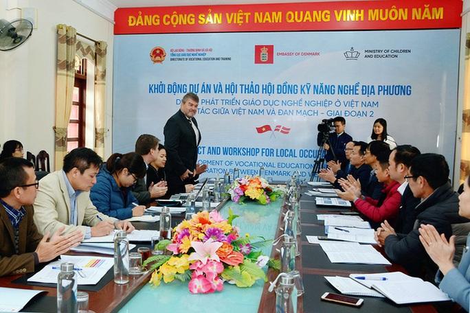 Khởi động Dự án phát triển giáo dục nghề nghiệp Việt Nam - Đan Mạch - Ảnh 1.