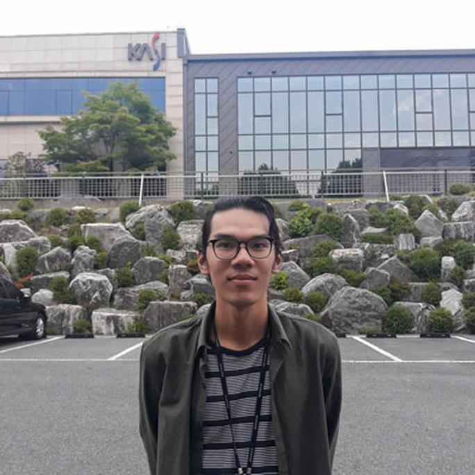Đường tới NASA của một sinh viên Việt mê vũ trụ - Ảnh 1.