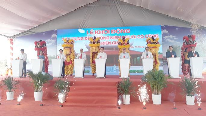 Tỉnh Kiên Giang lên tiếng việc xây đền tưởng niệm người có công 400 tỉ đồng - Ảnh 1.
