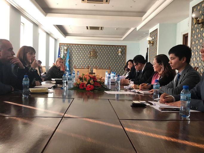 Đoàn đại biểu HĐND TP HCM thăm và làm việc tại Bulgaria  - Ảnh 1.