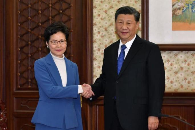 Bắc Kinh nhắc nhở lãnh đạo Hồng Kông chưa hoàn thành nhiệm vụ - Ảnh 2.