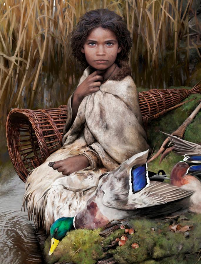 Mẩu nhựa cây bí ẩn làm sống dậy thiếu nữ xinh đẹp 5.700 tuổi - Ảnh 1.