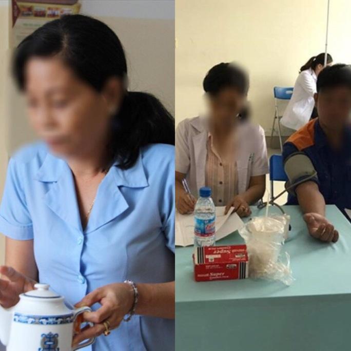Làm rõ vụ hô biến nhân viên tạp vụ thành bác sĩ khám bệnh cho công nhân - Ảnh 1.