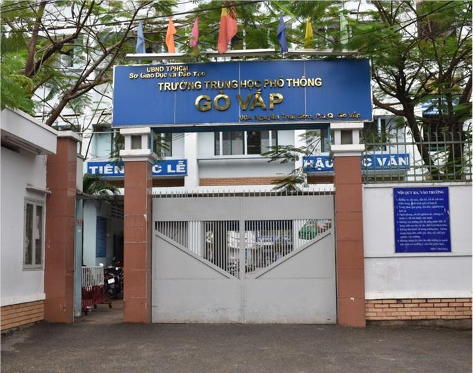 Trường THPT Gò Vấp nói gì về thông tin giáo viên làm lộ đề trên Facebook? - Ảnh 1.