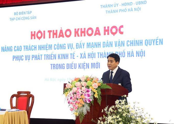 Chủ tịch Nguyễn Đức Chung: Hà Nội đã đúc rút cho mình nhiều bài học đắt giá - Ảnh 1.