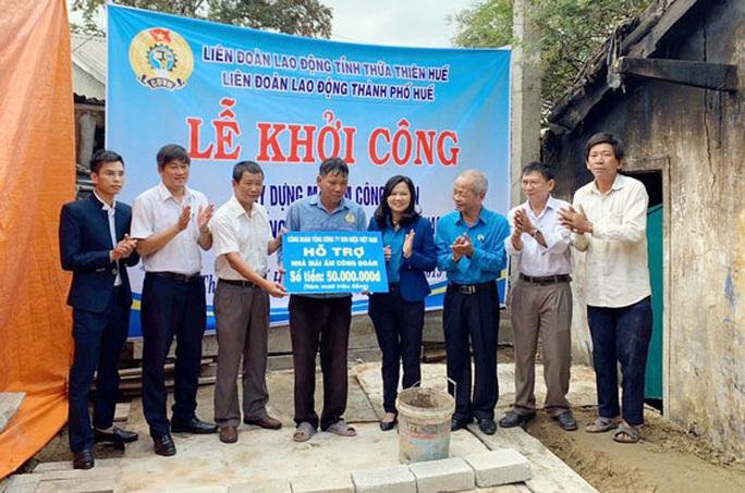 Thừa Thiên - Huế: Giúp đoàn viên nghèo an cư - Ảnh 1.