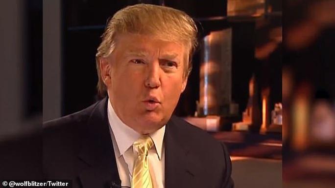 Ông Trump đòi luận tội ông Bush từ năm 2008 - Ảnh 1.