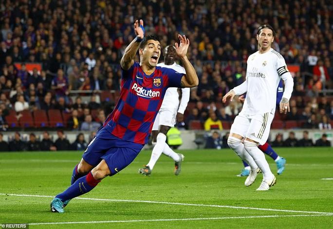 Messi nhạt nhòa, Barcelona bị cầm hòa Siêu kinh điển - Ảnh 2.