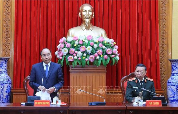 Thủ tướng Nguyễn Xuân Phúc chỉ đạo tại Hội nghị Đảng ủy Công an Trung ương - Ảnh 3.