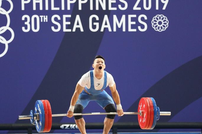 SEA Games 30: Lực sĩ Thạch Kim Tuấn vuột mất HCV đáng tiếc - Ảnh 9.