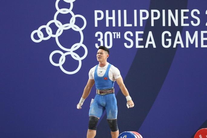 SEA Games 30: Lực sĩ Thạch Kim Tuấn vuột mất HCV đáng tiếc - Ảnh 10.