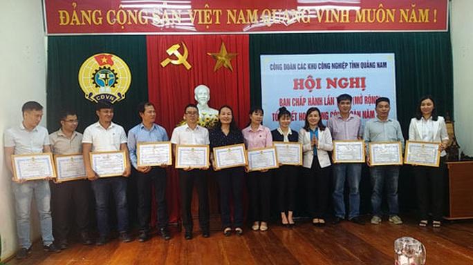 Quảng Nam: Chú trọng chăm lo phúc lợi đoàn viên - Ảnh 1.