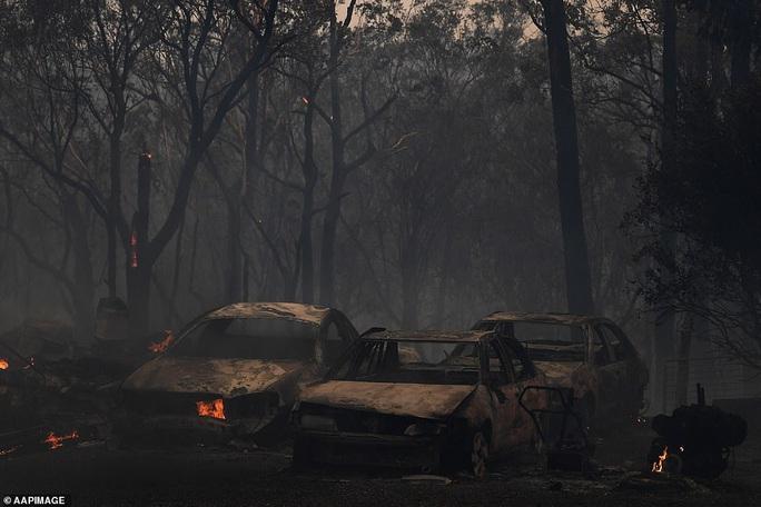 Cháy rừng bao vây Sydney, xe cứu hỏa tông trúng cây, 2 người hy sinh - Ảnh 4.