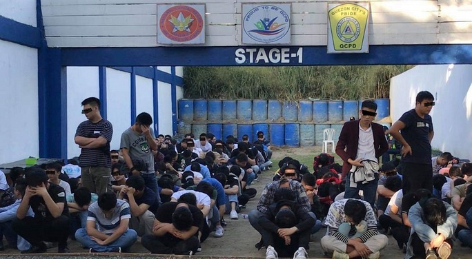 Philippines: Không cấm người Trung Quốc tổ chức đánh bạc nhưng vẫn bắt người - Ảnh 1.