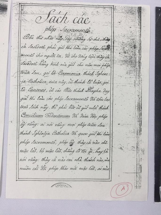 Nhìn lại 100 năm chữ Quốc ngữ qua những khảo cứu quý giá - Ảnh 3.