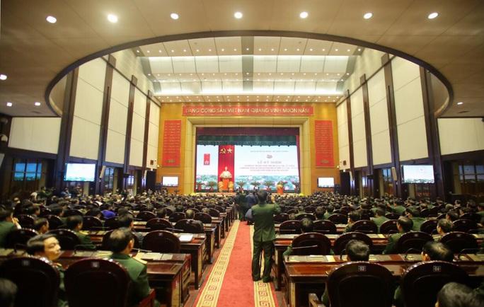 Cận cảnh lãnh đạo cấp cao dự lễ kỷ niệm Ngày thành lập Quân đội nhân dân Việt Nam - Ảnh 6.