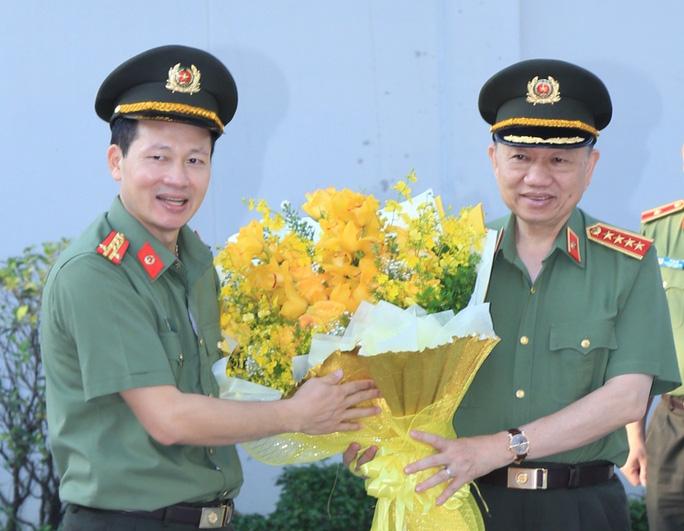 Đại tướng, Bộ trưởng Bộ Công an Tô Lâm làm việc với Công an Đồng Nai - Ảnh 1.