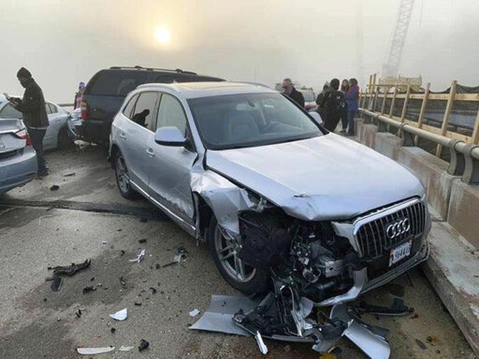 Mỹ: 69 xe gặp tai nạn liên hoàn, hàng chục người bị thương - Ảnh 4.