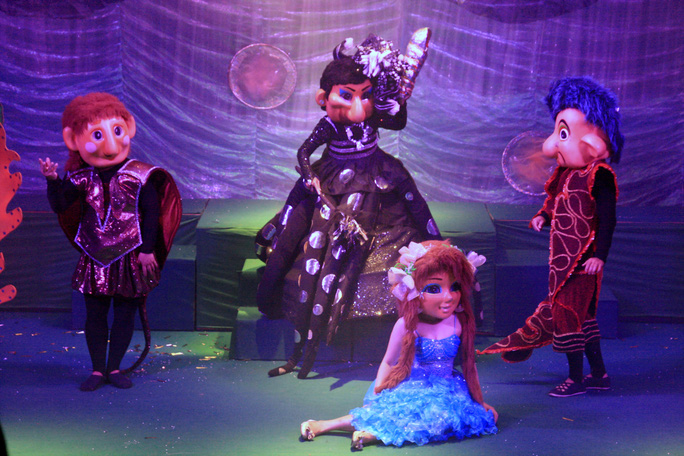 Nhà hát Múa rối Nụ Cười TP HCM ra mắt điểm diễn mới - Ảnh 3.