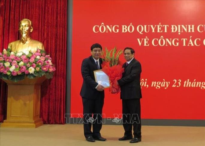 Bộ Chính trị điều động, phân công Bí thư Nghệ An làm Phó Chánh Văn phòng Trung ương Đảng - Ảnh 2.