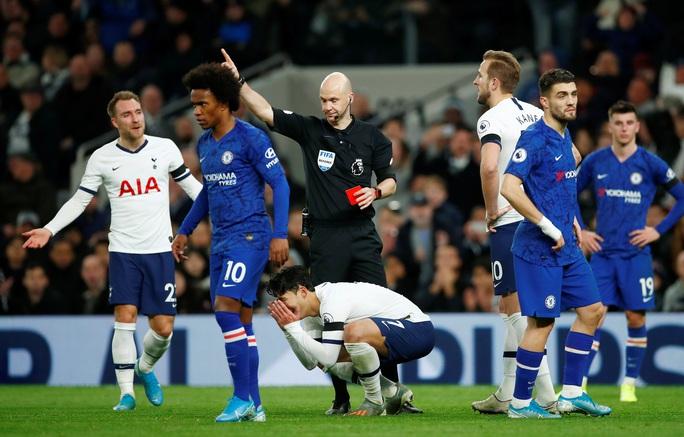 Son Heung-min bị đuổi, Tottenham gục ngã trận derby sân nhà trước Chelsea - Ảnh 1.