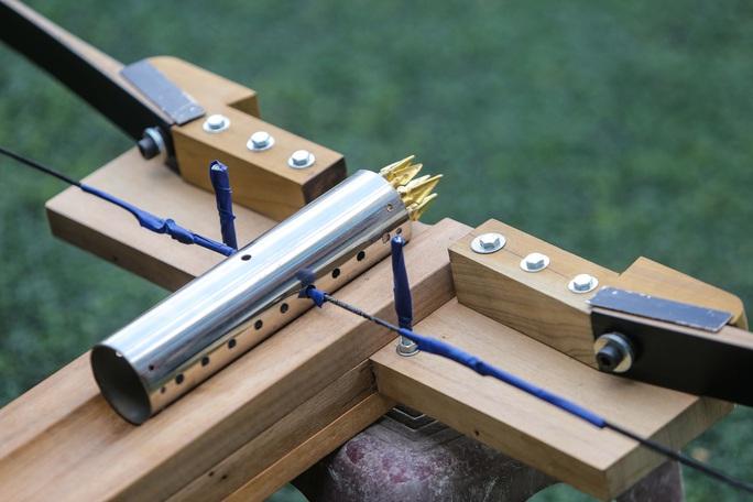 Cận cảnh Nỏ thần An Dương Vương hoạt động giống tên lửa container - Ảnh 5.