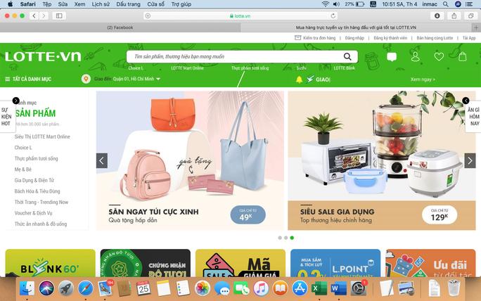 Đến lượt Lotte.vn tháo chạy khỏi mảng bán hàng online - Ảnh 1.