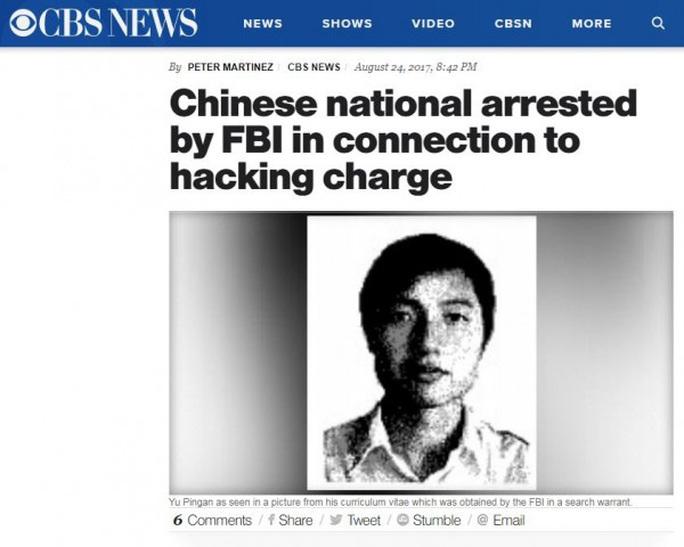 Tin tặc bị kết án ở Mỹ trở về Trung Quốc dạy học - Ảnh 1.