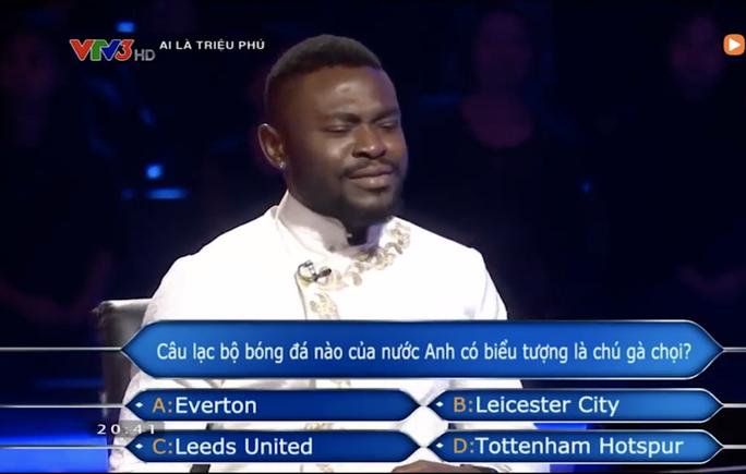 Chương trình Ai là triệu phú nhầm kiến thức về CLB Tottenham? - Ảnh 4.