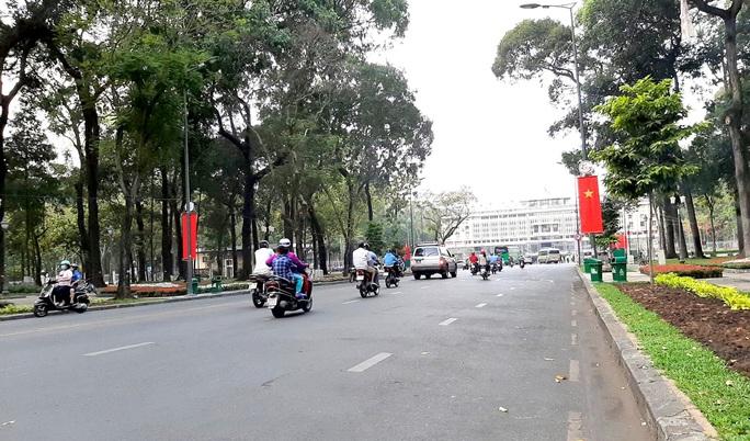 Một đoạn đường Lê Duẩn ở trung tâm TP HCM cấm xe 4 ngày - Ảnh 1.