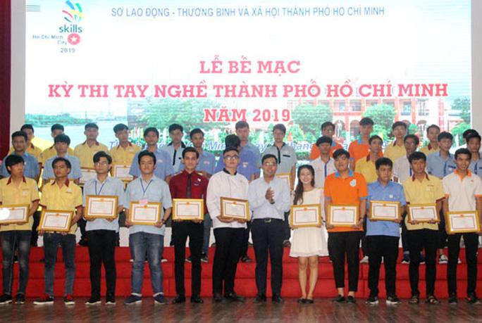 TP HCM chọn 50 thí sinh xuất sắc dự thi tay nghề quốc gia - Ảnh 1.