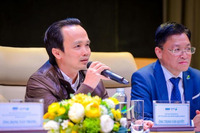Tỉ phú Trịnh Văn Quyết phủ nhận thông tin thuê Boeing 787-9 của Trung Quốc - Ảnh 1.