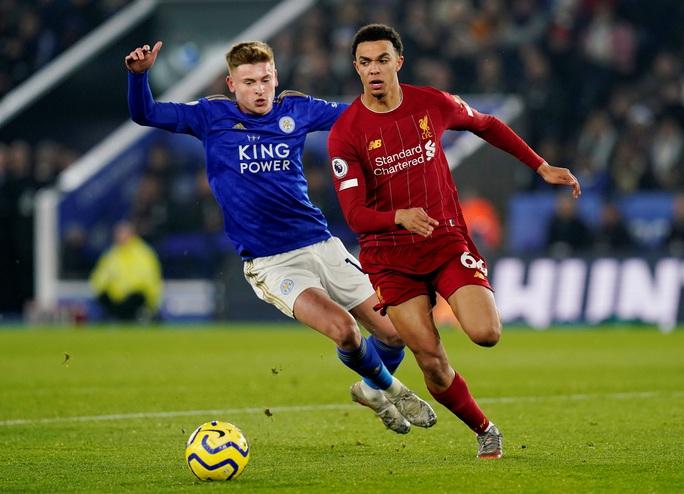 Leicester tặng quà, Liverpool giành ngôi vô địch mùa Đông - Ảnh 5.