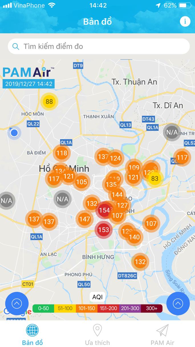 TP HCM: Chất lượng không khí hôm nay rất tệ! - Ảnh 1.