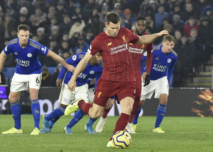 Leicester tặng quà, Liverpool giành ngôi vô địch mùa Đông - Ảnh 4.
