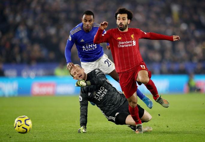 Leicester tặng quà, Liverpool giành ngôi vô địch mùa Đông - Ảnh 1.