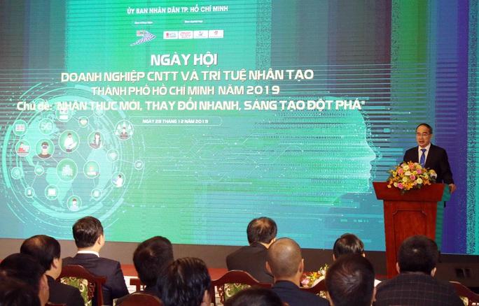Bí thư Nguyễn Thiện Nhân: Doanh nghiệp chọn TP HCM phát triển công nghệ thông tin là đúng chỗ - Ảnh 2.