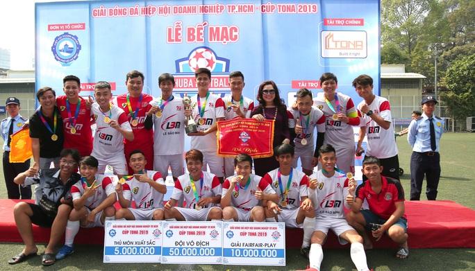 Lê Bảo Minh thắng kịch tính chung kết, đoạt chức vô địch Giải HUBA FOOTBALL - TONA CUP 2019 - Ảnh 3.